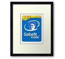 Lord GabeN Inside Framed Print