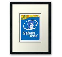 Lord GabeN Inside Framed Print