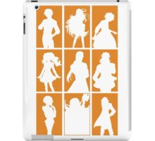 Tales of Xillia 2 - Character Roster (Orange) iPad Case/Skin