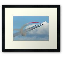 Red Arrows - Twister Framed Print