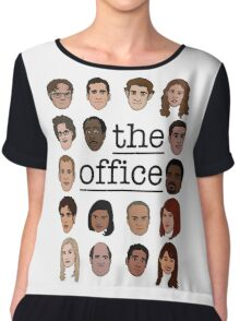The Office Crew Chiffon Top