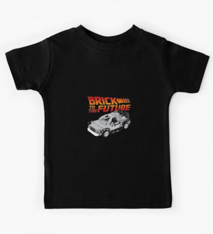Brick To The Future Kids Tee