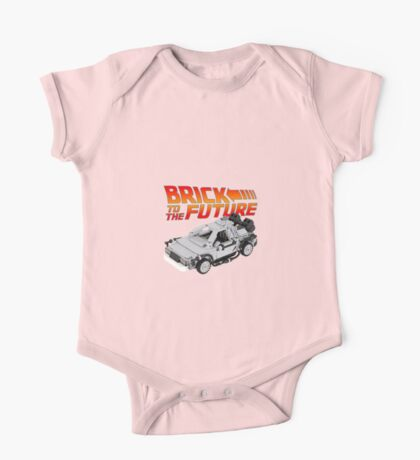 Brick To The Future One Piece - Short Sleeve