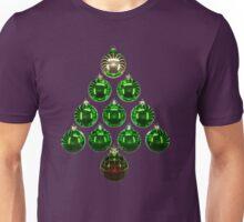Christmas Bauble Tree 2 Unisex T-Shirt