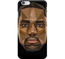 Lebron's face in the shape of shapes, pretty shapy eh? iPhone Case/Skin