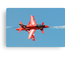 Red Arrows - Opposition Barrel Roll Canvas Print