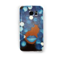 BLUE Diva Samsung Galaxy Case/Skin