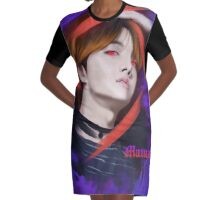 J-hope's Mama  Graphic T-Shirt Dress