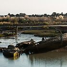 Wrecks (Île de Noirmoutiers - Vendée, France) by Mathieu Longvert