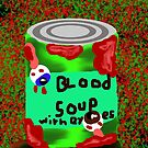 Blood soup with eye's by StuartBoyd
