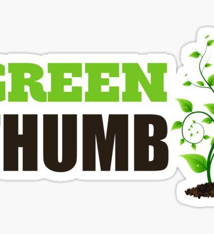 Green Thumb Sticker