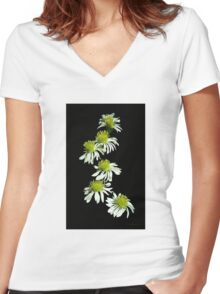 You Are Never Alone Women's Fitted V-Neck T-Shirt
