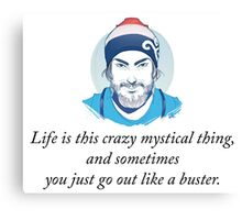 Life is this crazy thing #1 Canvas Print