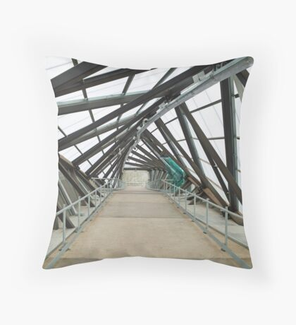 Adelaide Showgrounds Railway Station Throw Pillow