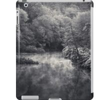River in Black and Silver iPad Case/Skin