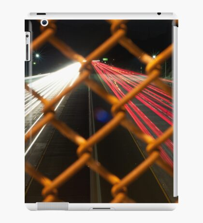 30 second picture of a freeway iPad Case/Skin