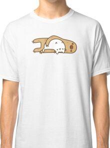 Cute Kawaii Sloth Cat Classic T-Shirt