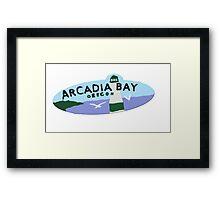 Arcadia Logo Framed Print