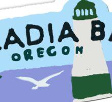 Arcadia Logo Sticker