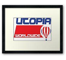 USA Balloon - Utopia Framed Print