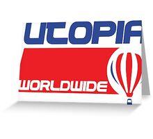 USA Balloon - Utopia Greeting Card