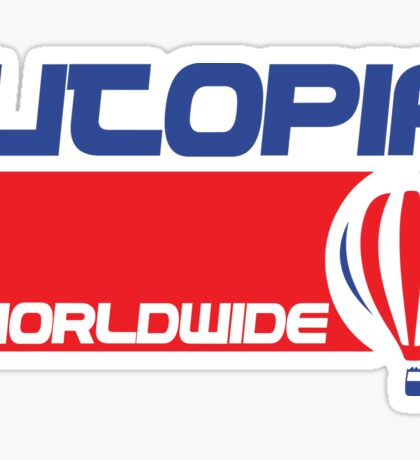 USA Balloon - Utopia Sticker
