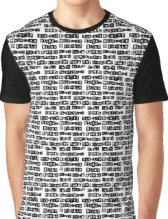 Music genres list Graphic T-Shirt