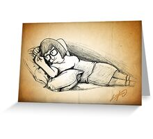 Tina Belcher (Draw Me Like One of Your French Girls) Greeting Card