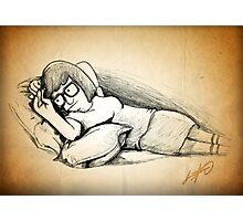 Tina Belcher (Draw Me Like One of Your French Girls) Photographic Print