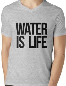 Water is Life Mens V-Neck T-Shirt