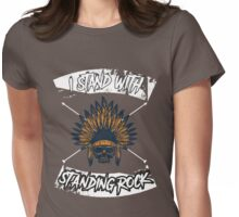 standing rock - american indian Womens Fitted T-Shirt
