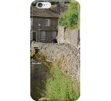 Stone fence riverside iPhone Case/Skin