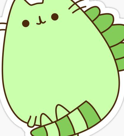 Cute Kawaii Cat Dinosaur Sticker