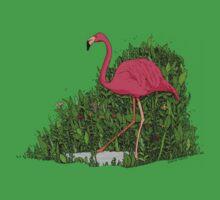 Flamingo Forest Kids Tee