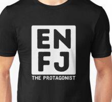 ENFJ - White Print Unisex T-Shirt