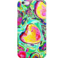 abstract colored stones iPhone Case/Skin
