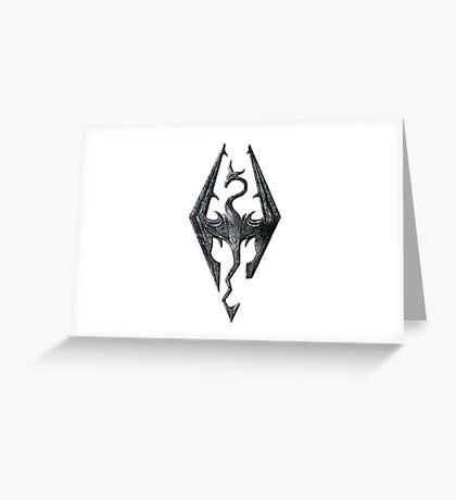 Skyrim Greeting Card