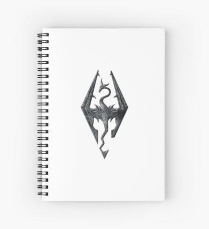 Skyrim Spiral Notebook
