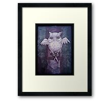 Ghost Stitches Framed Print