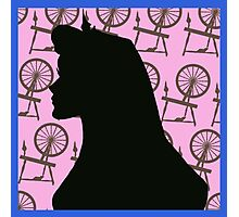 sleeping beauty silhouette  Photographic Print