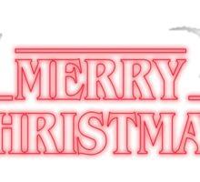MERRY CHRISTMAS - STRANGER THINGS Sticker