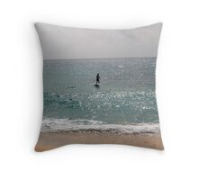 Paddle..........Paddle..........Paddle..... Throw Pillow