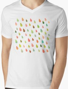 Opal Drops Mens V-Neck T-Shirt