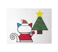 Santa Meowie Christmas Tree Gallery Board