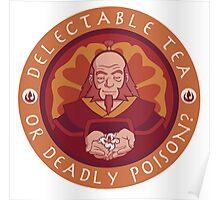 Tea or Poison (White version) Poster