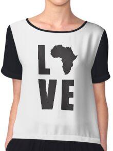 Love Africa Chiffon Top