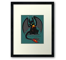 Can't take the sky Framed Print