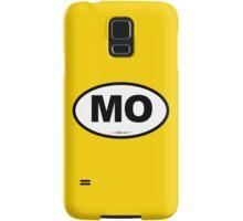 Missouri MO Euro Oval  Samsung Galaxy Case/Skin