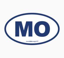 Missouri MO Euro Oval  BLUE by USAswagg