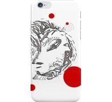 Eurasia with polka dots iPhone Case/Skin
